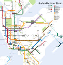 Manhattan Map Subway by New York Subway System Tickets Metrocard Station Lines Mta