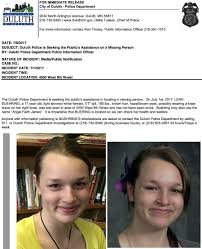 Seeking Release Date Duluth Seeking S Assistance In Locating Missing