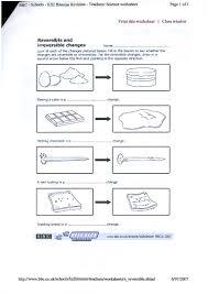 worksheet changes in matter worksheets luizah worksheet and
