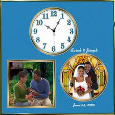 Personalized Wedding Clocks Wedding Rings Personalized Wall Clock Is A Large 14