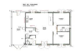 plan maison plain pied 2 chambres garage gamme plain pied simon habitat constructeur de maisons