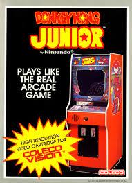 image donkey kong junior coleco box art jpg classic game room