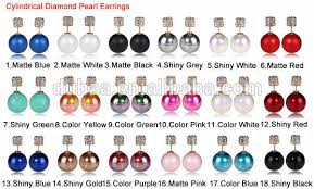 sided earrings 2015 new design dubaa korea earrings women pearl dubaa korean