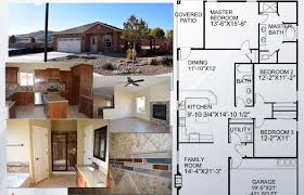 Updown Court Floor Plan by West Los Lunas Area Homes For Sale