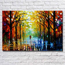 wall hanging scenery painting modern living room decoration hand wall hanging scenery painting modern living room decoration hand painted knife oil painting modern canvas art no framed oil painting hand painted picture