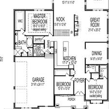 kitchen design floor plans bungalow house plans single story plan open floor with picture of