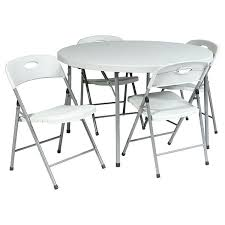 table and chair rentals bronx ny round folding chair work smart round fold in half table four folding
