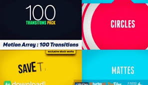 transitions pack videohive project free download free after