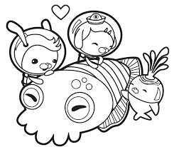 holiday coloring pages printable free the octonauts coloring4 throughout holiday coloring pages