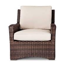 Threshold Belvedere Patio Furniture by Threshold Belvedere Wicker Patio Club Chair Khaki Ebay