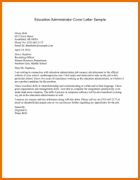 executive administrator cover letter content administrator cover
