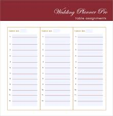 Wedding Invitation Excel Template Sle Wedding Guest List 6 Documents In Pdf Word
