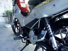 honda xrm rs 125 with dbs pipe hid lights bulb rpm youtube