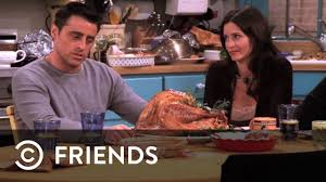 joey eats a whole turkey at thanksgiving friends