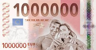 idee hochzeitsgeschenk idee für ein geldgeschenk zur hochzeit der 1mio euroschein als