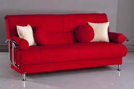 Balkarp Sofa Bed Futon Futon Beds Target In Red With Metal Legs For Home