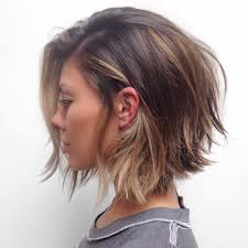 hair style angled toward face 30layered bob hairstyles so hot we want to try all of them