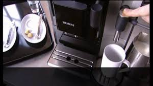 siemens eq7 coffee machine danmark youtube