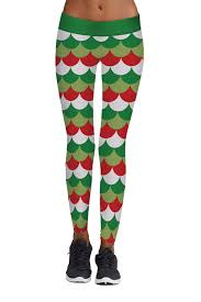 cocoleggings womens christmas print active workout stretch