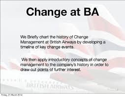 british airways black friday managing change at british airways an introduction
