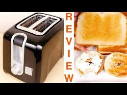 Two Slice Toaster Reviews Black Decker 2 Slice Extra Wide Slot Toaster Review Youtube