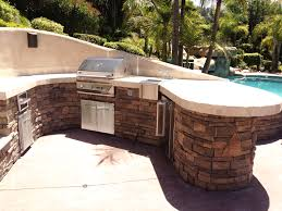 tremendous bbq outdoor kitchen islands with tumbled travertine