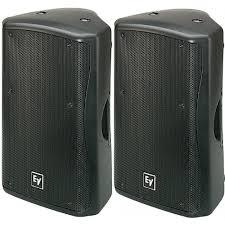 empty 15 inch speaker cabinets electrovoice zxa5 90b powered pa speaker pa equipment pa