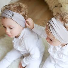 infant hair color baby headbands soft cotton hair belt bands infant