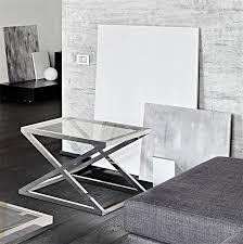 bout de canapé en verre bout de canapé en verre kris sur cdc design