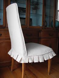 dining room chair slipcovers with white color white modern