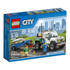 amazon com lego city great vehicles pickup tow truck toys u0026 games