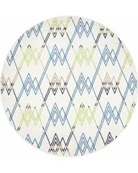 Rizzy Home Rugs Summer Special Rizzy Home Glendale Multi Trellis Round Area Rug