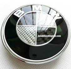 black and white bmw roundel bmw black white carbon fiber 82mm trunk emblem roundel badge