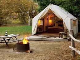 luxury tent u0026 yurt camping sites sunset