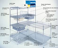 Metro Wire Shelving by Super Erecta Shelving Accessories By Intermetro