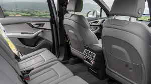 how many seater is audi q7 audi q7 suv practicality boot space carbuyer