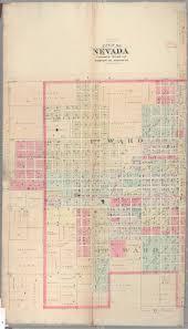 Nevada County Map Maps Of Missouri