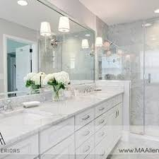TamaraMackDesign Bathrooms Gray Bathroom Gray Cabinetscharcoal - White cabinets master bathroom