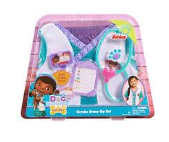 doc mcstuffins scrubs dress up set 4 6x toys