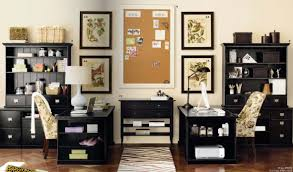 office interior appealing black painted office decor ideas