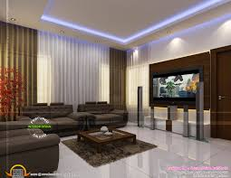 living room interior designs in kerala