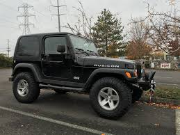 jeep lifted 2 door lift size and tire size jeep wrangler tj forum