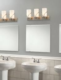bathroom 4 lights polished chrome bathroom lights lowes for home