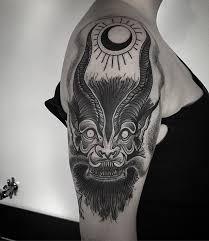 electric wizard tribute tattoo blackwork blackworkers