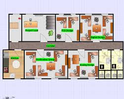 office layout plan 5 highly efficient office layouts examples of