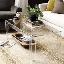 Clear Coffee Table Clear Acrylic Coffee Table