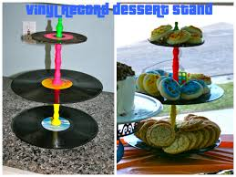 80s Theme Party Ideas Decorations 80 U0027s Party Decor Tutorials The Luckiest Vinyl Record Dessert