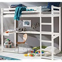 lit mezzanine enfant avec bureau amazon fr lit mezzanine