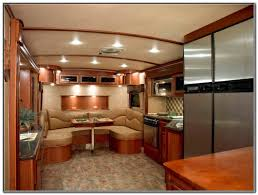 front living room 5th wheel travel trailers living room home