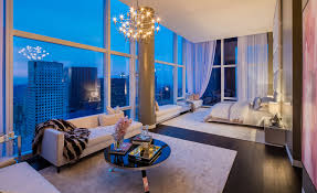 baccarat penthouse new york master bedroom luxury interior